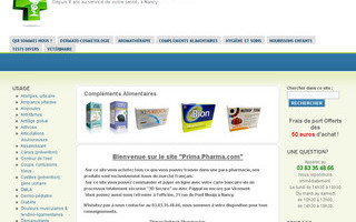 parapharmacie en ligne sur prima-pharma