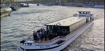 location bateau Paris - mariage péniche