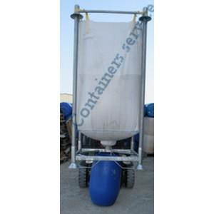 big bag silo avec support et accessoires