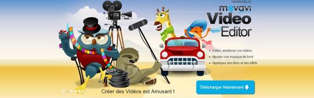 Movavi Video Editor est un éditeur de vidéo peu cher mais performant