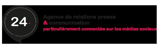vingt quatre agence de communication Paris-Dijon
